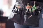 Tools of her trade: Davida's makeup brushes. - Dahlia Katz Photography